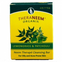 Theraneem Lemongrass & Patchouli Soap Bar