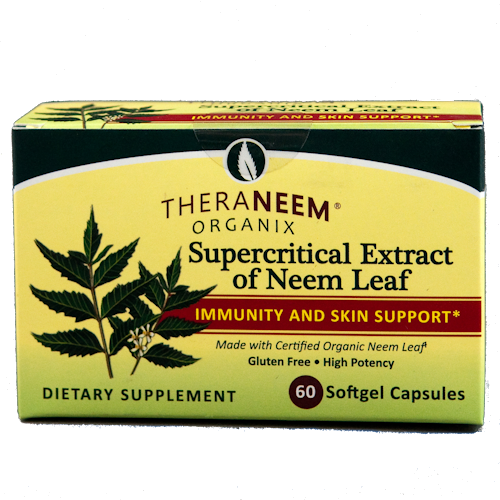 TheraNeem Supercritical Neem Leaf Extract (gel caps)