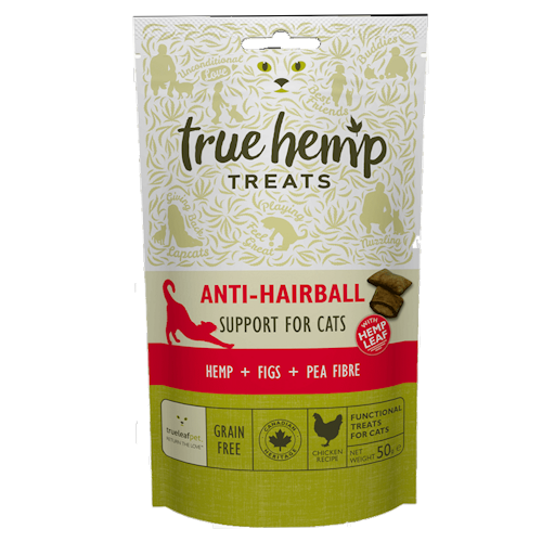 True Hemp Anti Hairball Cat Treats