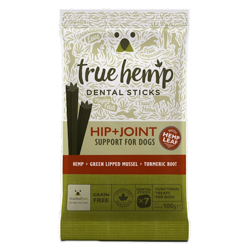 True Hemp Hip & Joint Support Dental Sticks for Dogs