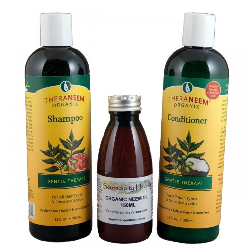 Organix Thera-Neem Head Lice Prevention Pack