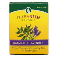 Theraneem Oatmeal & Lavender Soap Bar