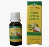 Neem tooth and gum oil