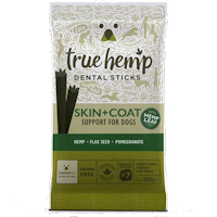 True Hemp Skin & Coat Support Dental Sticks for Dogs